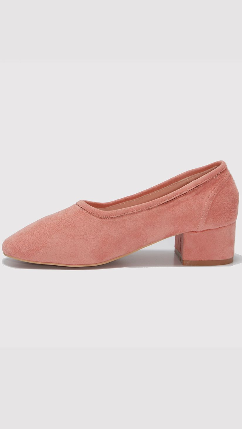 http://theloeil.com/collections/shoes/products/blush-socks-flat-heels
