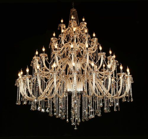 78 3 4 Large Luxury Palace 60 Lights Crystal Chandelier Shinning