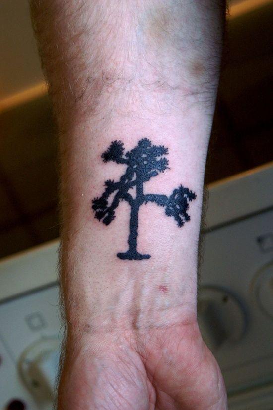 Joshua Tree tattoo | Tree tattoo small, New tattoo designs