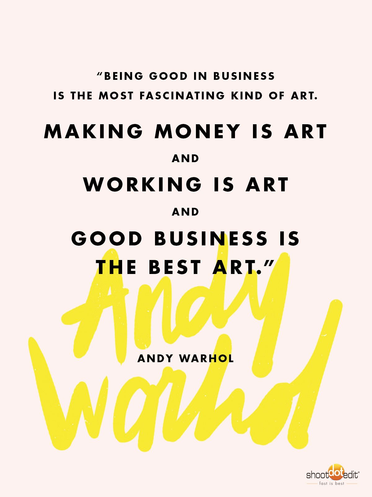 Andy Warhol Quotes Meet A Business Savvy Artist Every Photographer Should Know