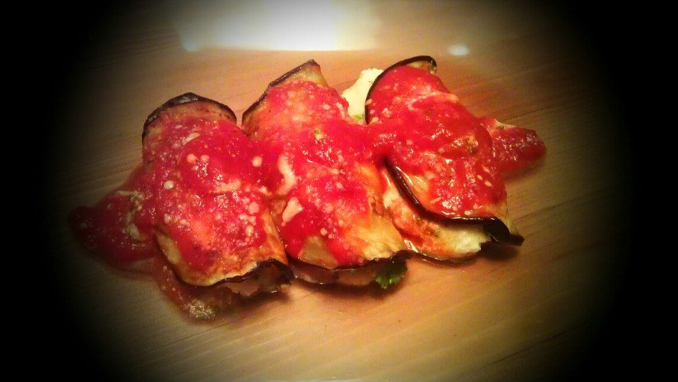 Eggplant Involtini  ***The recipe can be found at :  https://www.facebook.com/groups/ammaraskitchen/search/?query=Eggplant%20Involtini    ***Please join my Facebook group- https://www.facebook.com/groups/ammaraskitchen/