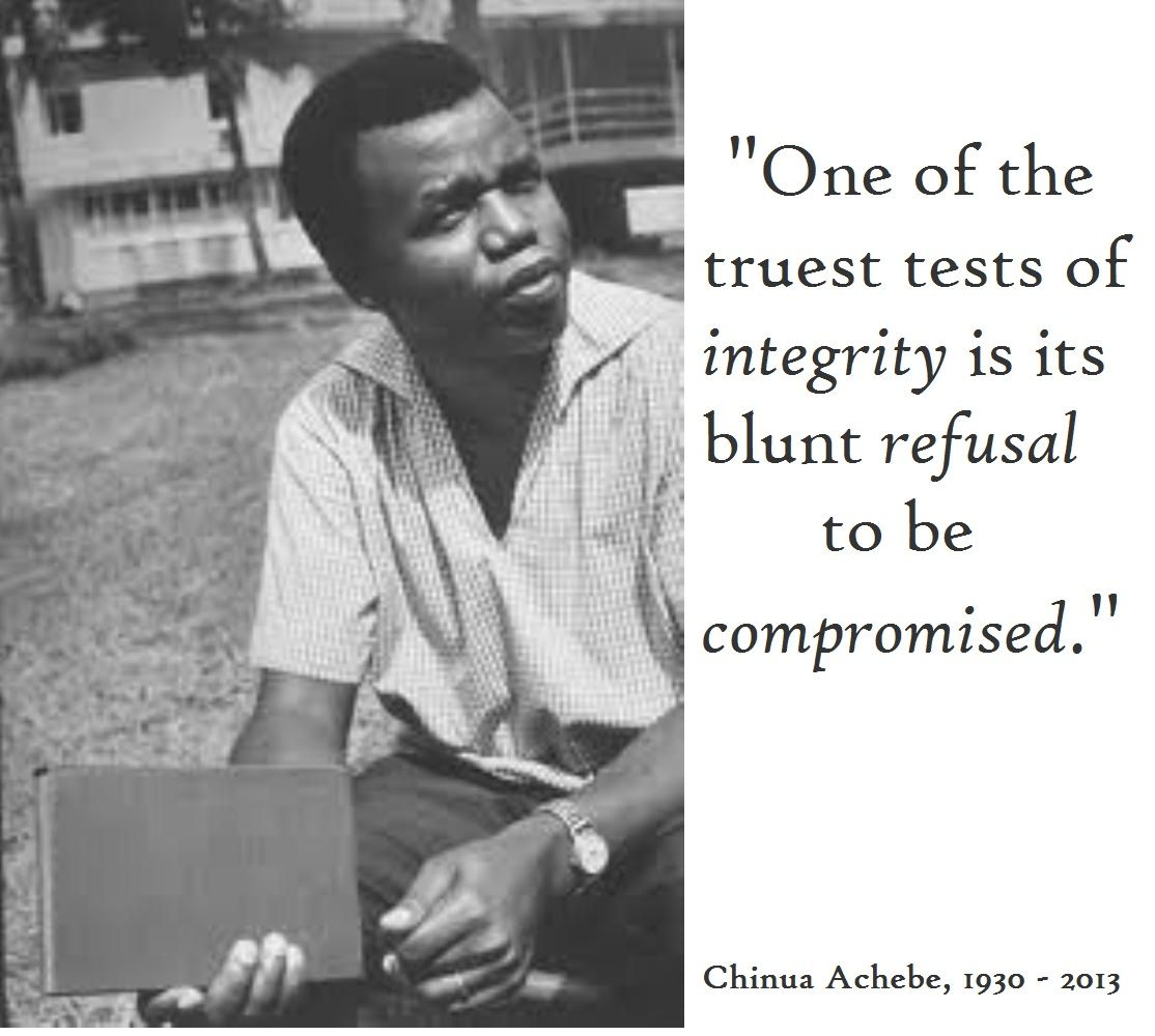 Chinua Achebe Quotes | African quotes, Chinua achebe, Literature quotes