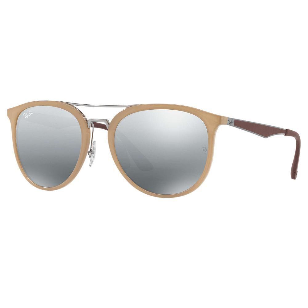 Occhiali Grigio Sole A Specchio Ban Da Rb4285 Lenti Marroni Ray 1FclJK
