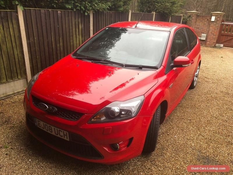Ford Focus St 2 5 Turbo 2008 Damaged Repairable Ford Focus Forsale Unitedkingdom Ford Focus St Ford Focus Ford