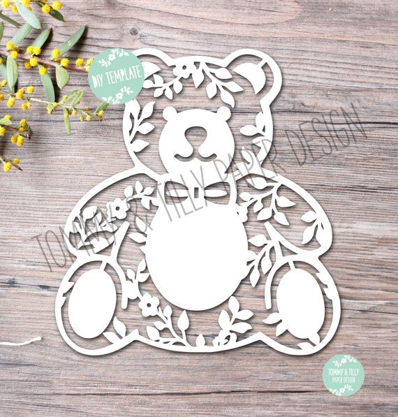 40 off all Commercial Templates COMMERCIAL USE 3 x Teddy Bear