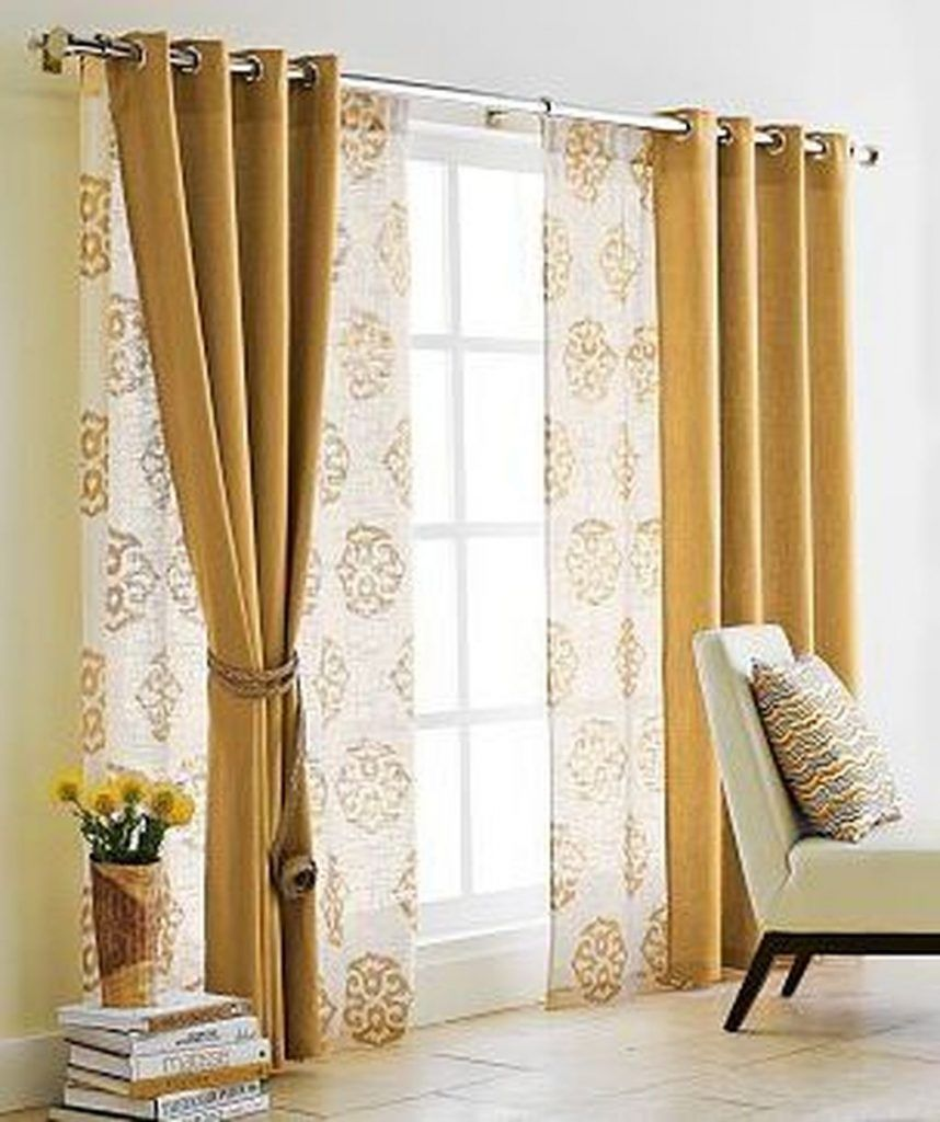 40 Luxurious Curtain Ideas Comfortable Living Room Page 20 Of 46 Curtains Living Room Living Room Sliding Doors Curtain Decor
