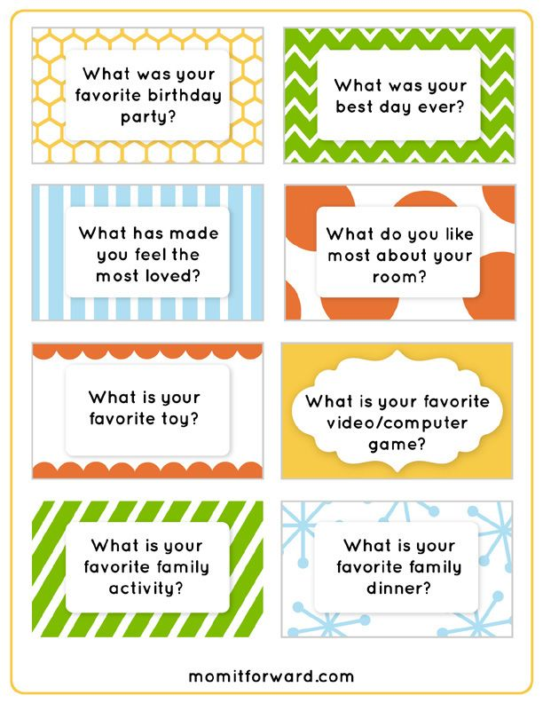 photo about Printable Conversation Cards named Supper Dialogue Concerns Printables ice breakers and