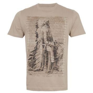 Camiseta Manga Curta Índio Bege – Pier Nine - http://batecabeca.com.br/camiseta-manga-curta-indio-bege-pier-nine.html