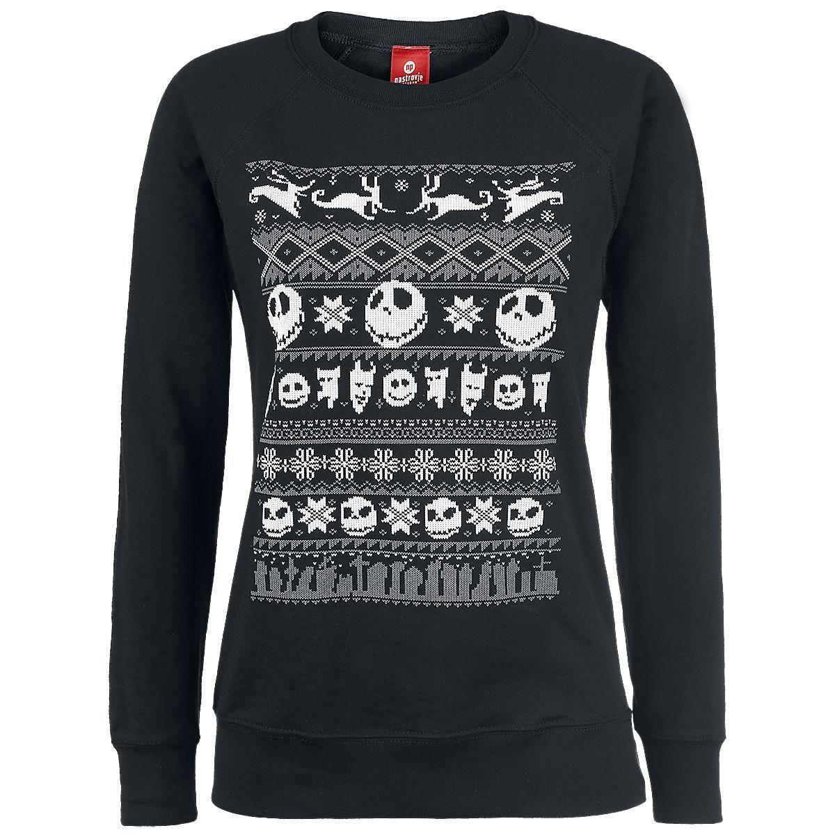The Nightmare Before Christmas Sweatshirt »Knit Sweater« | Buy now ...