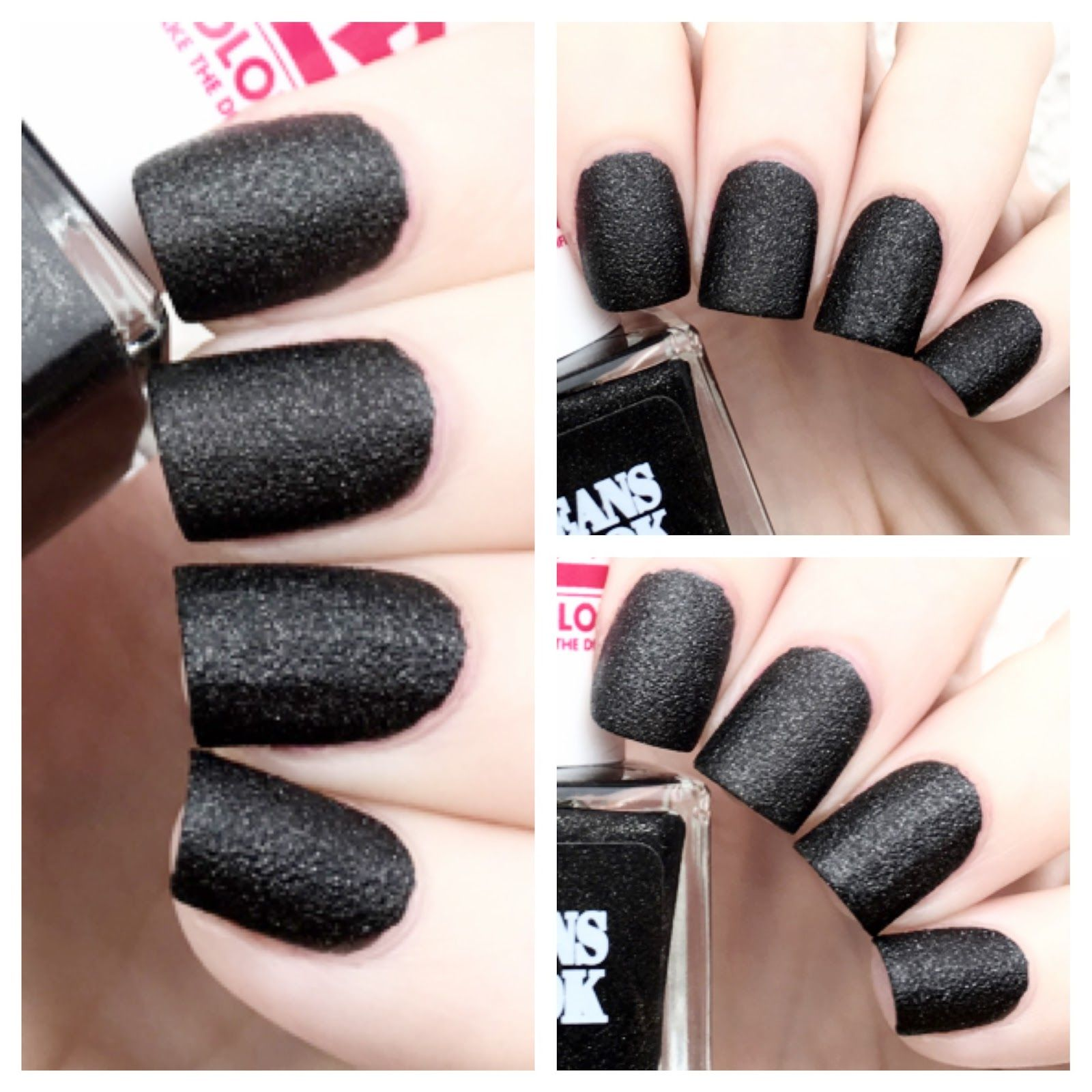 NOTD: 2B Colours Jeans Look Nail Polish in Black | Date Night ...