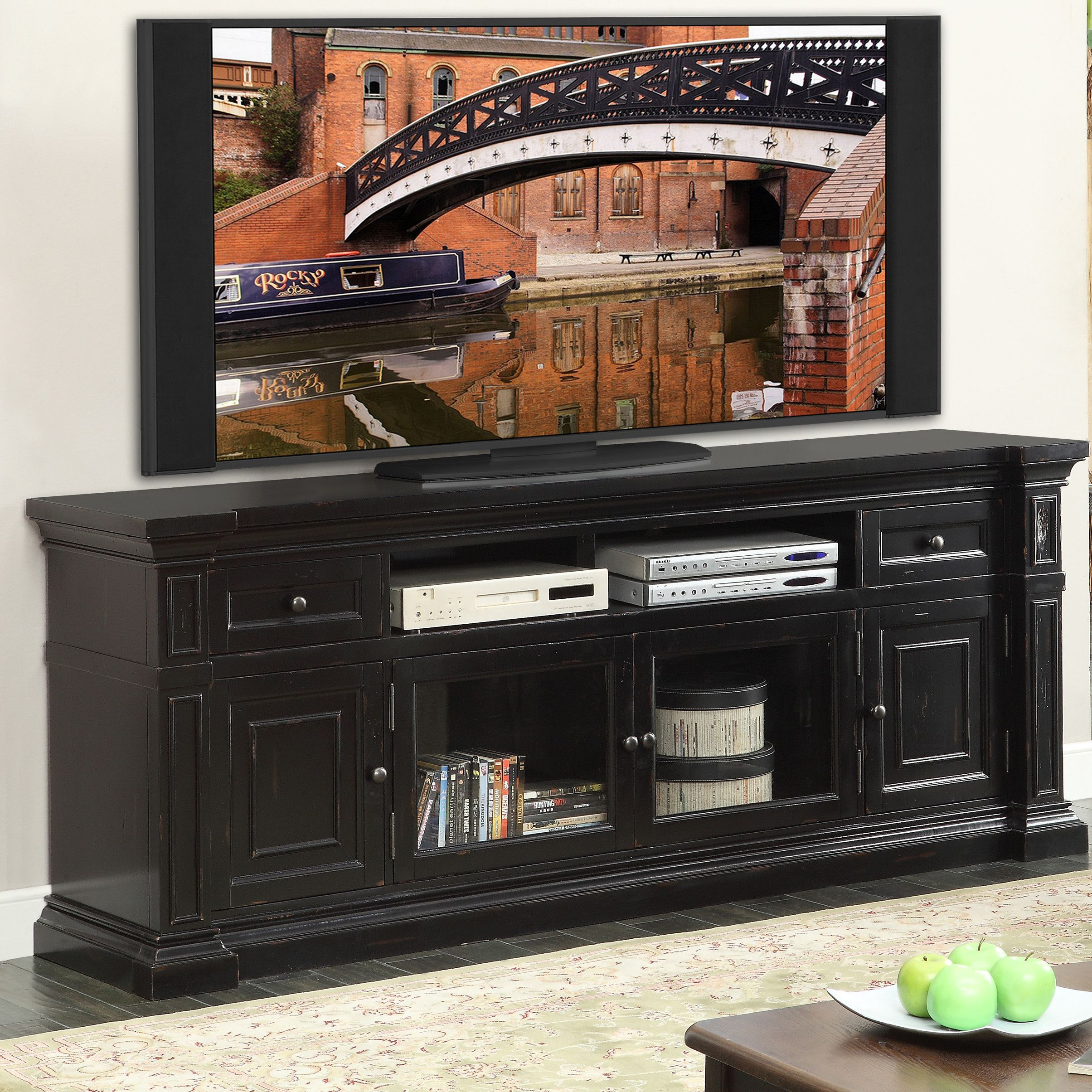 Darby Home Co Reg Stotts Tv Stand Tv Stand Furniture Rustic