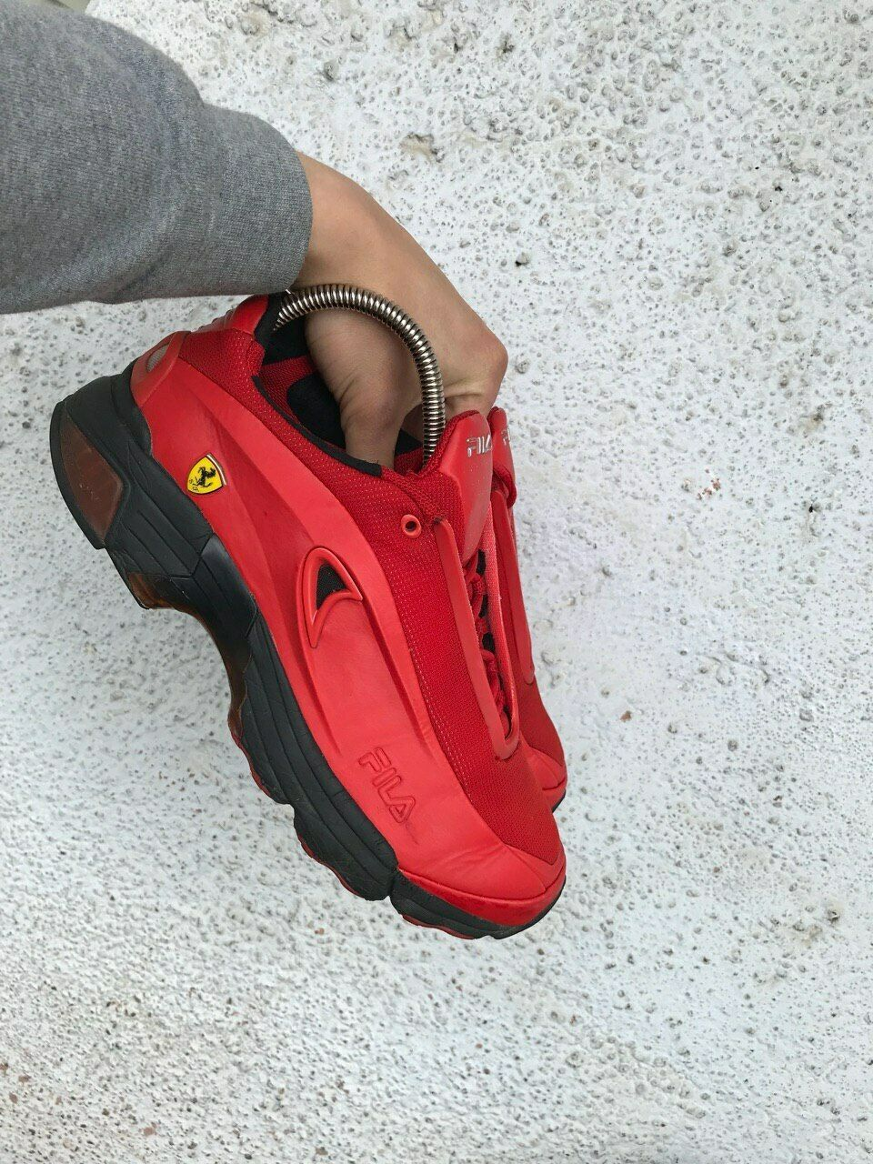 Fila Ferrari F2003 Red original Shoes