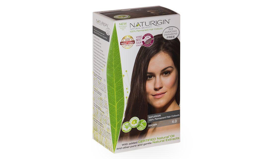 Naturigin 40 Brown Ammonia Sls Paraben Free Hair Dye Organic
