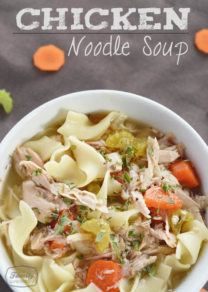 Easy chicken and noodle recipes