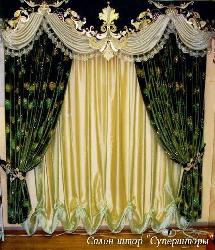 Curtain Designs luxurious+living+room+curtains | living room design ideas with