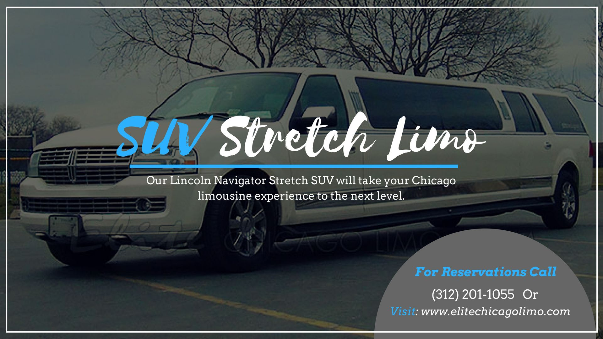 Available in 8 or 10 passenger limousines our stretch
