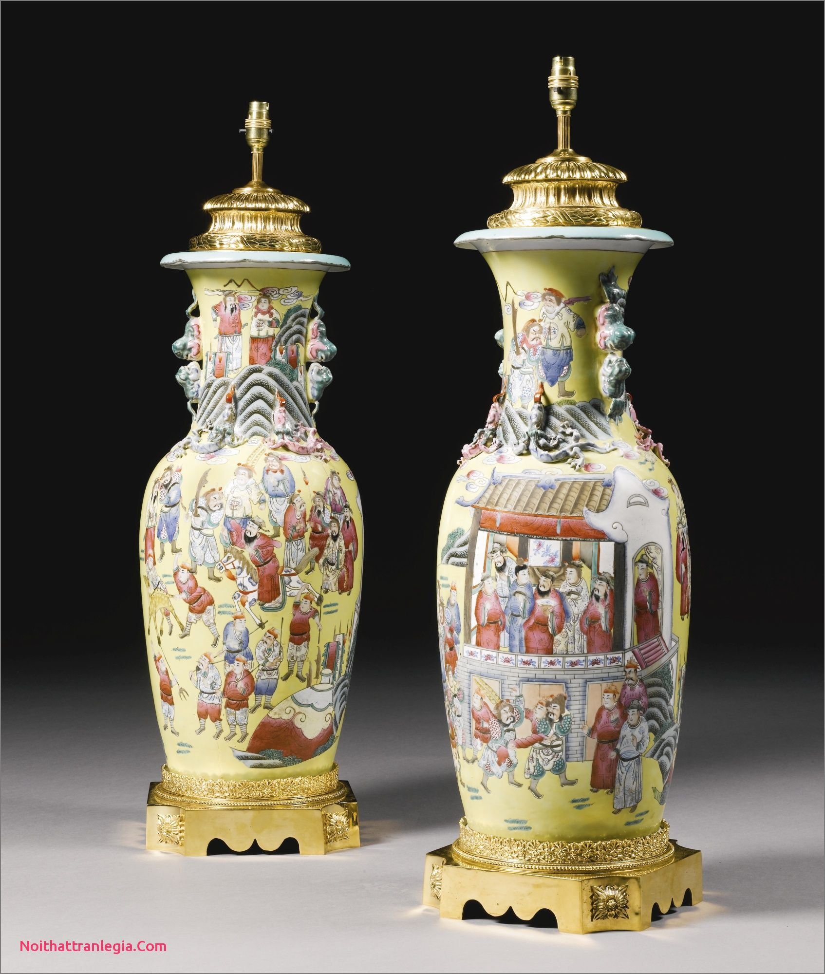 11 Nice Black Oriental Vase Oriental Vase Large Glass Vase