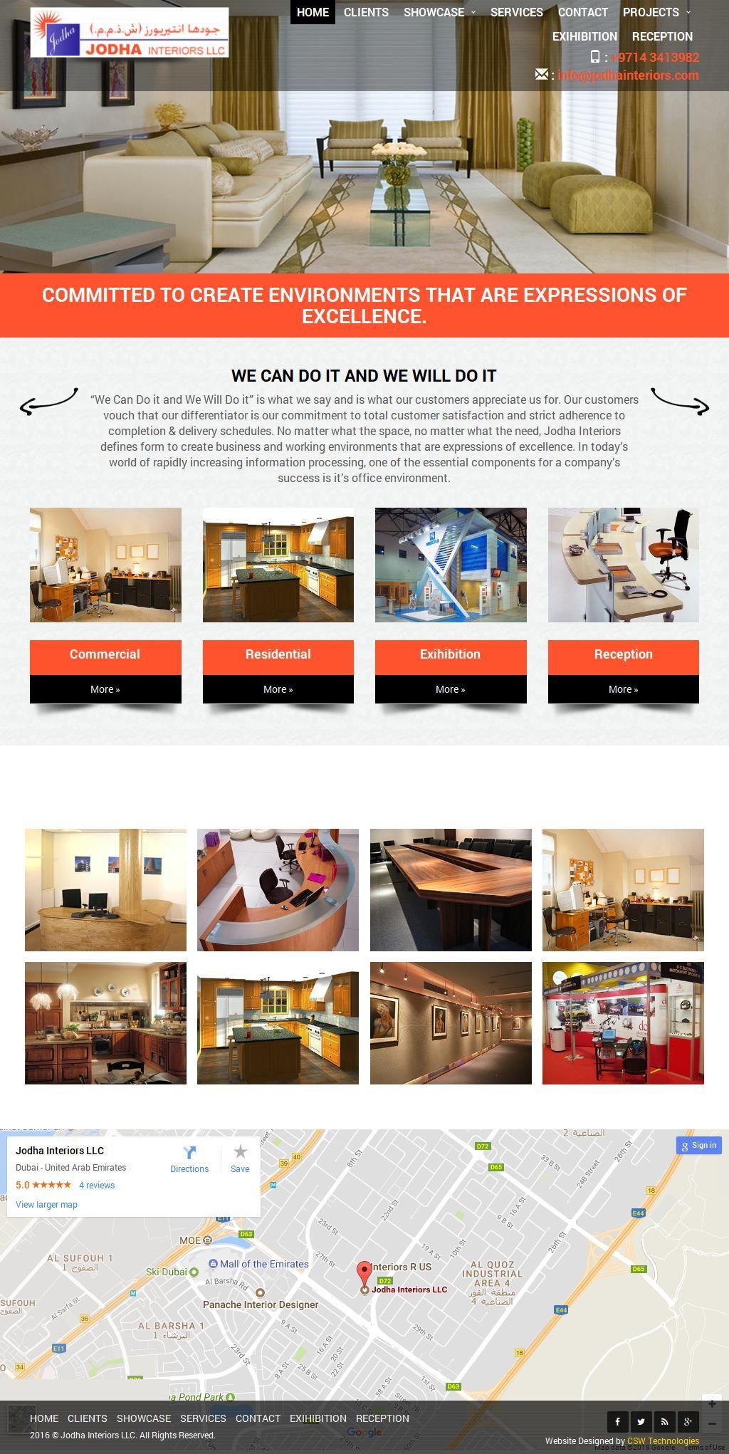 Jodha Interiors Company 53a, 28b Street G Floor Al Quoz