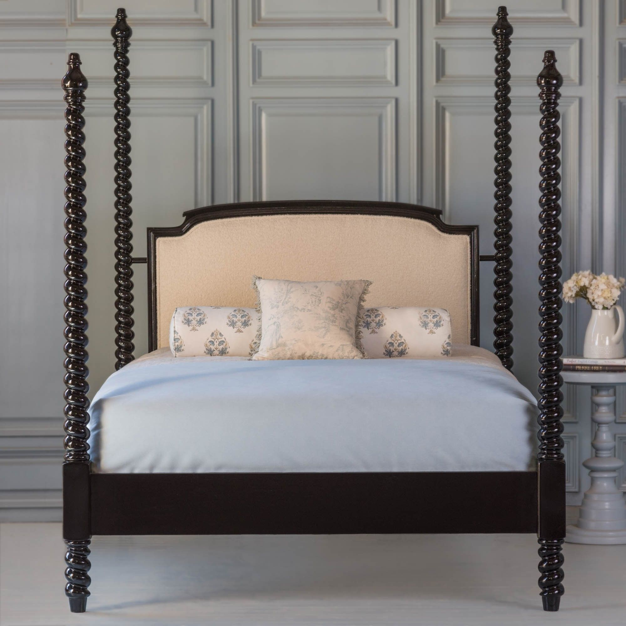 Dahlia Four Poster Bed By The Beautiful Bed Company Beautiful Bedding Four Poster Bed Bed Company