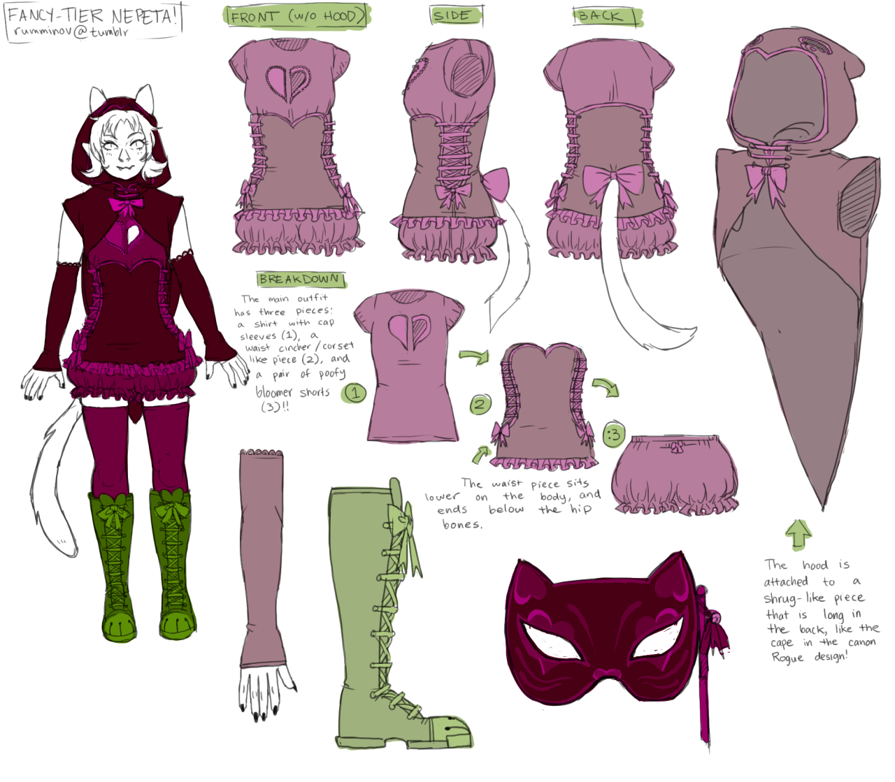 References for Nepeta's magical girl outfit Fancy God tier ...Fancy God Tier Nepeta