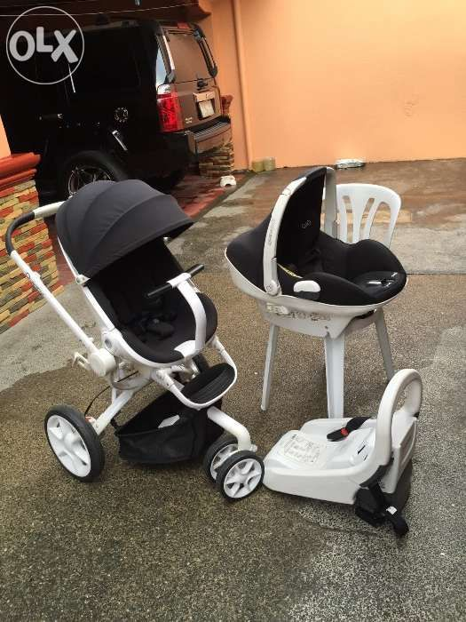 Quinny Moodd Stroller And Maxi Cozi Prezi Baby Car Seat For Sale
