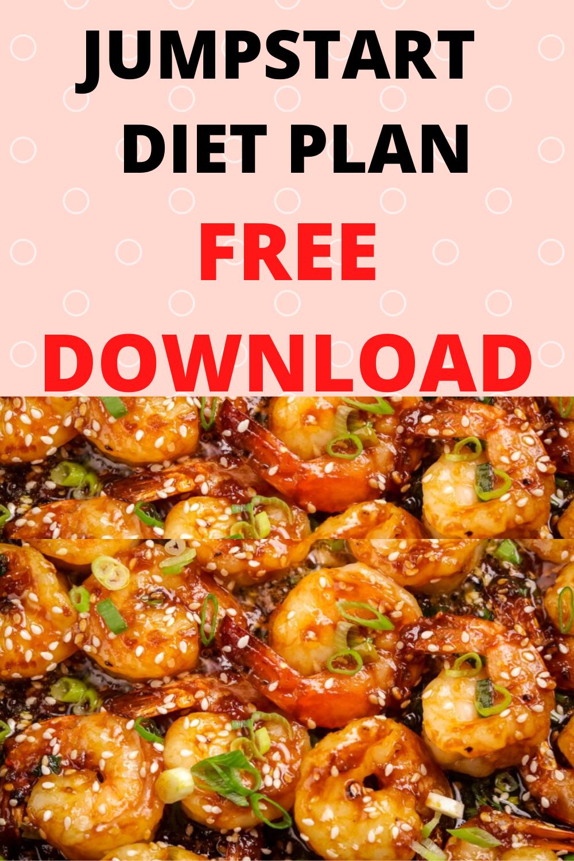 Jumpstart Diet Plan PDF DOWNLOAD In 2020