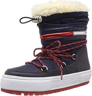 meet 4ab58 4b751 Hilfiger Denim Damen Tommy Jeans Corporate Snowboot ...