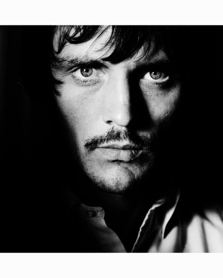 Terence Stamp, British Vogue, July 1967.  Photographed on the set of John Schlesinger's  Far From the Madding Crowd…