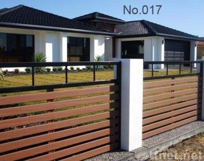 Wood And Iron Fence Google Search Modern Fence Design Wood Fence Design Fence Design