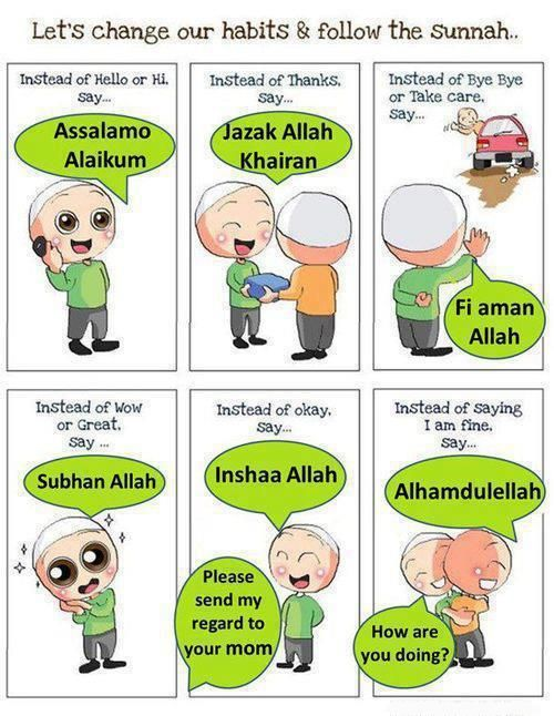 lets follow the Sunnah | Islam for kids | Learn islam ...
