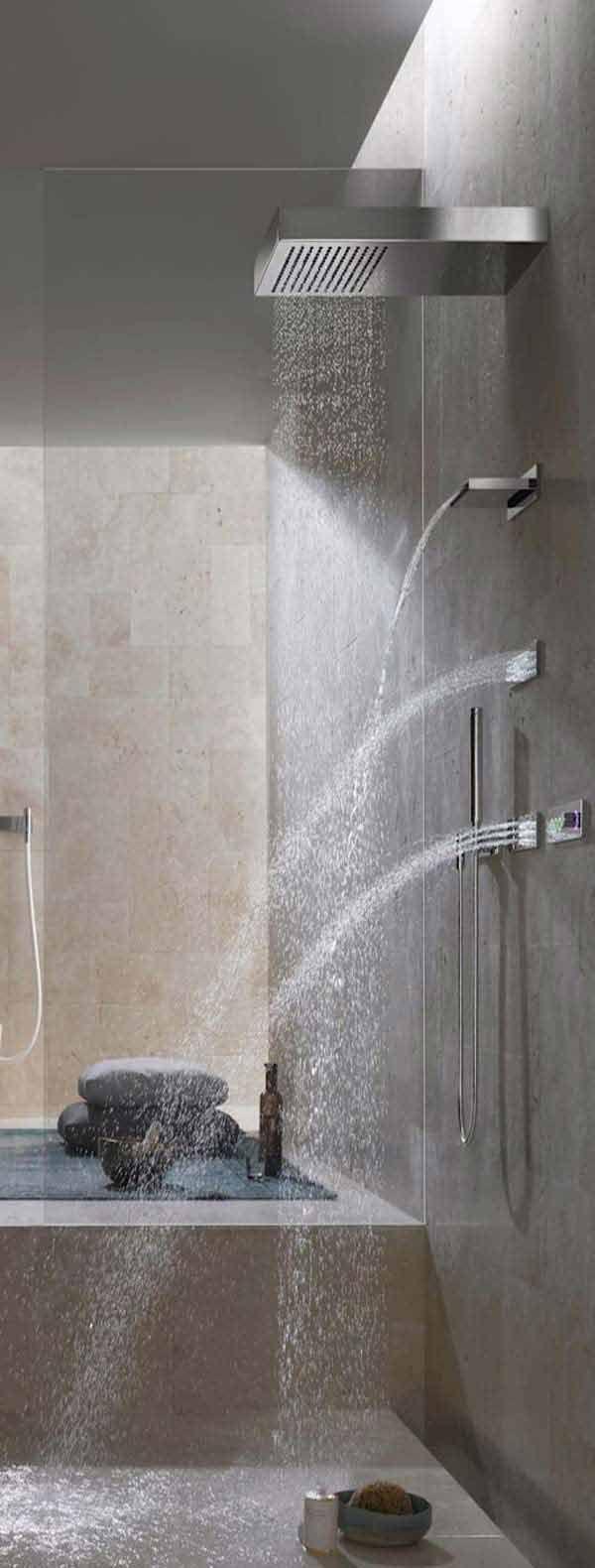 25+ Must See Rain Shower Ideas for Your Dream Bathroom