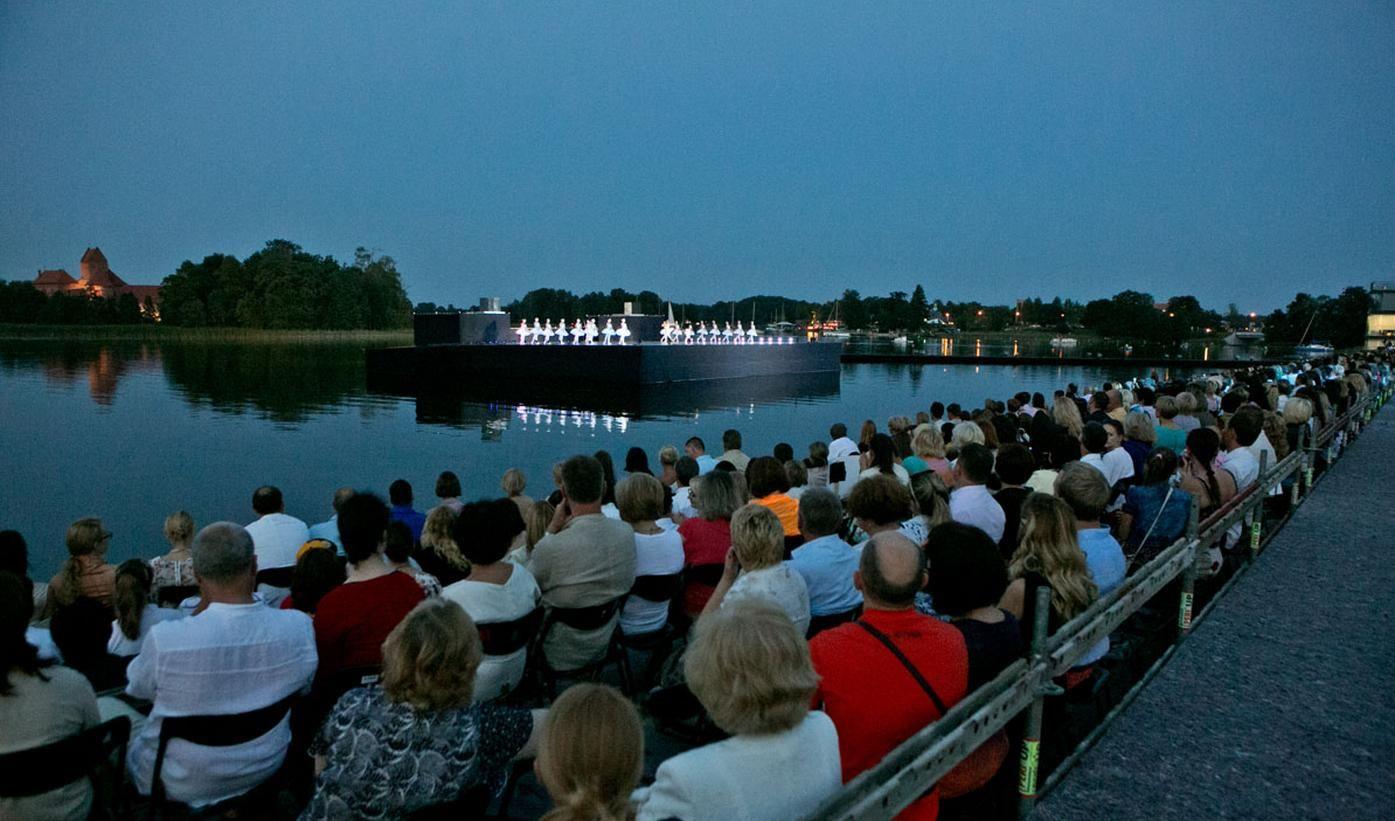 Ballet SWAN LAKE.Trakai-Lithuania