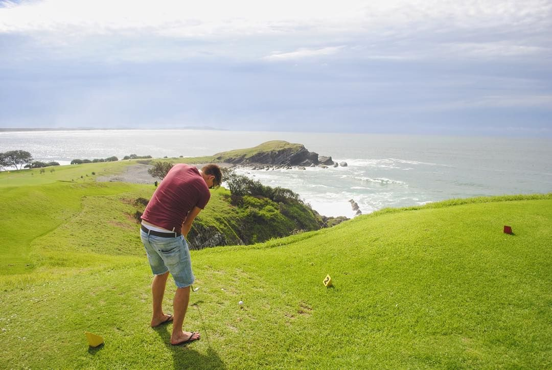 It looks like a luxury destination but accessible to all budgets. NSW coastal town Crescent Head is a perfect escape complete with 6 hole golf course! Just a casual slice.