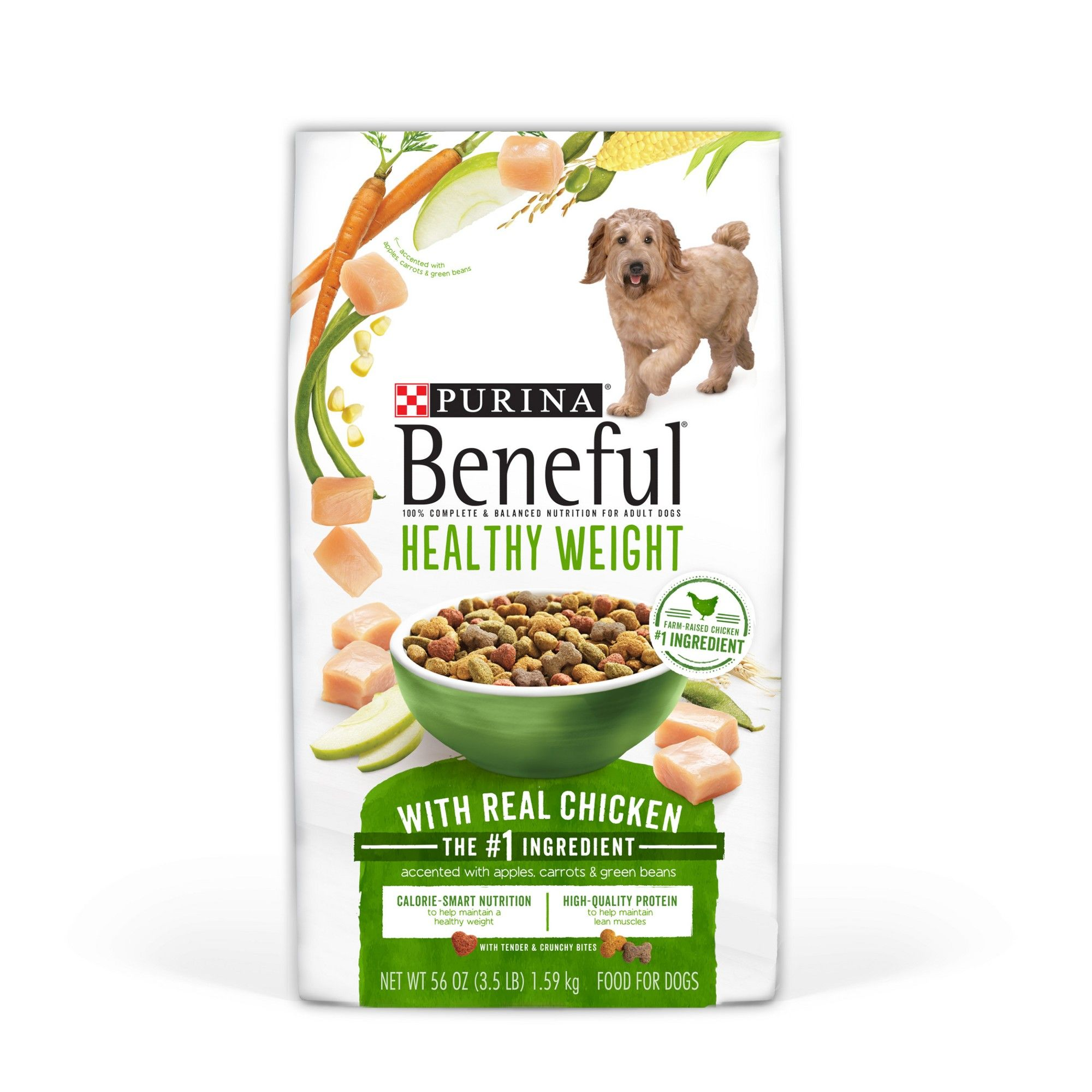 Purina Beneful Healthy Weight With Real Chicken Dry Dog Food 3 5
