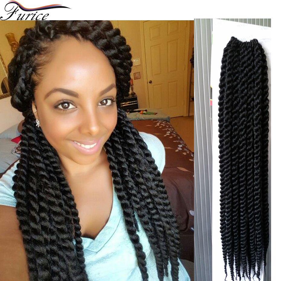 Havana Senegalese Twist Hair Extension Crochet Hair Extensions Curly
