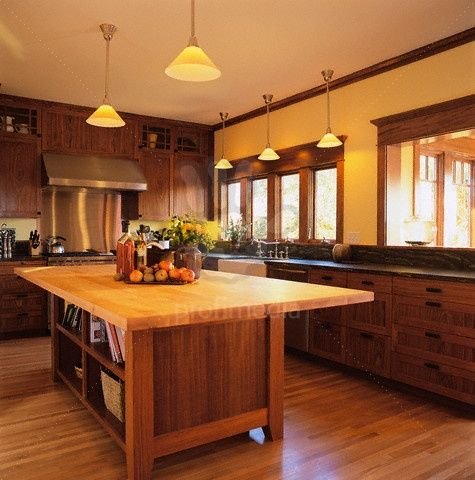 Arts and crafts design kitchen kitchen design arts and - Arts and crafts kitchen design ideas ...