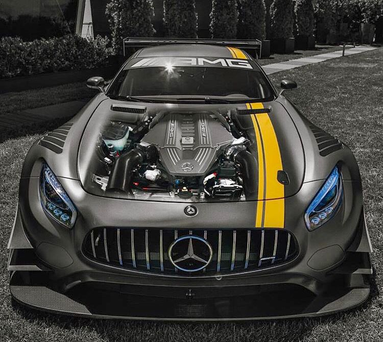 New Racing Machine For Mercedes, AMG GT3