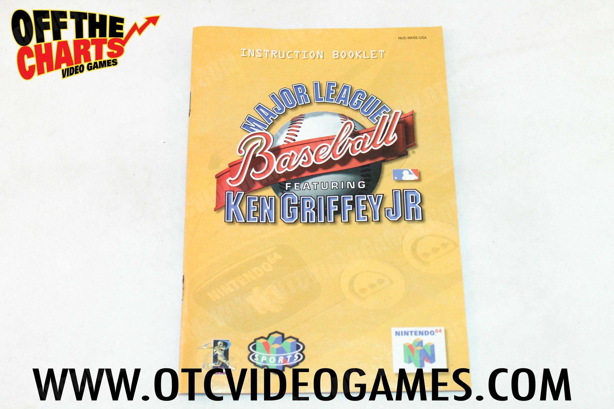 Major League Baseball featuring Ken Griffey Jr. Manual