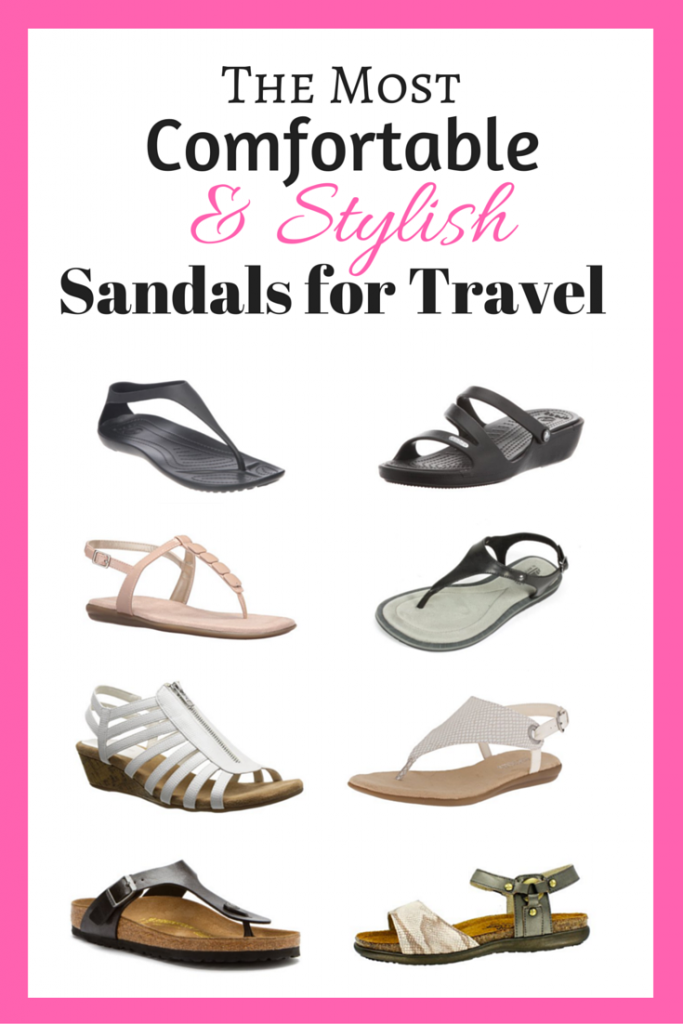 Most Comfortable Sandals For Travel 2019 Guide Pack Like