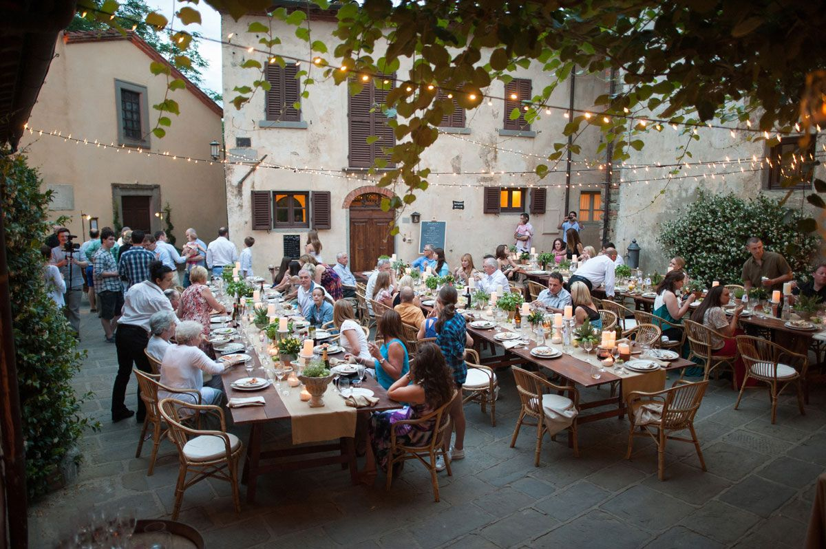 Welcome Dinner Tuscany Italy 14