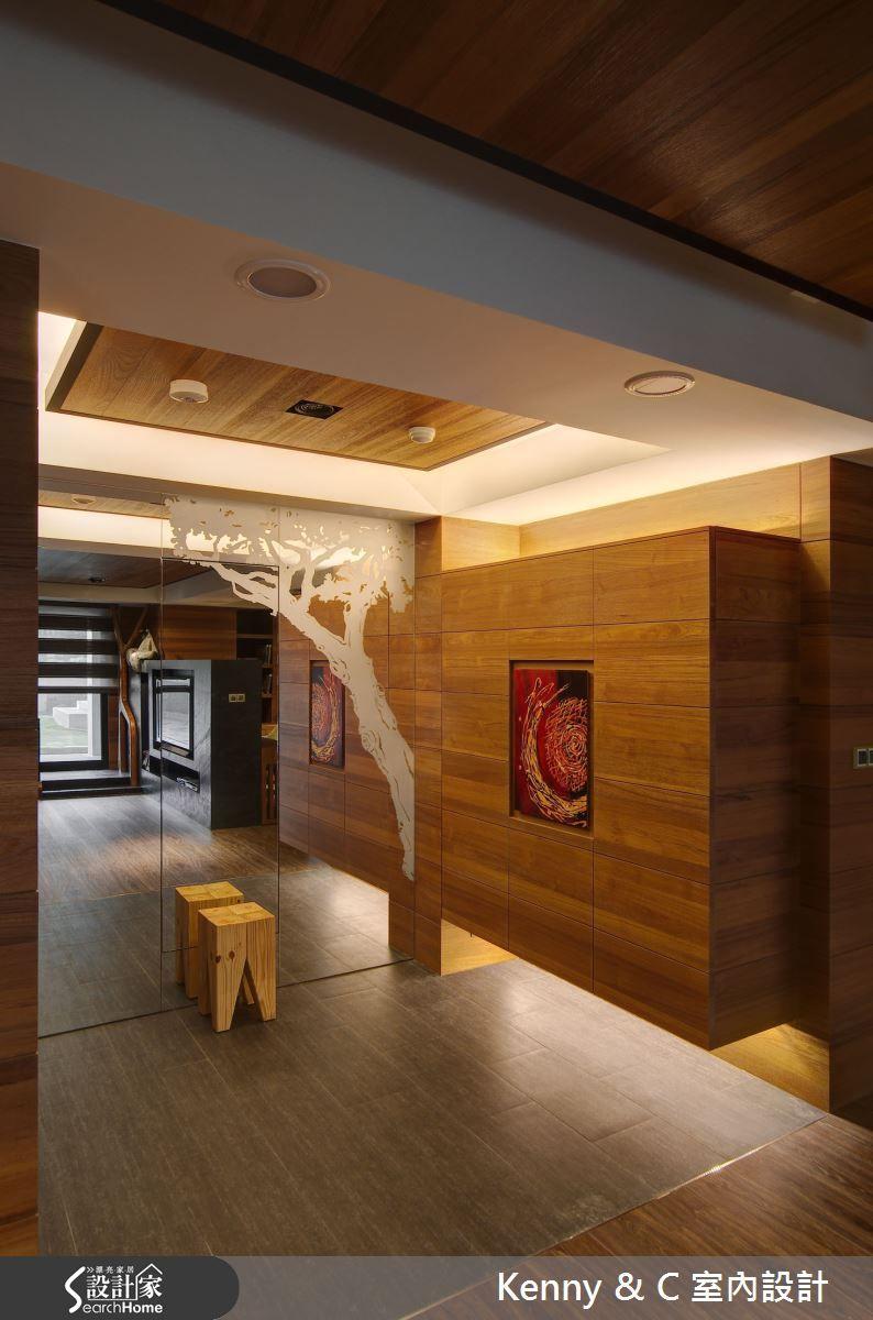 Tv 寧靜暖心身心靈融合自然的木藝術靜品宅 Home Decor Loft Bed Home