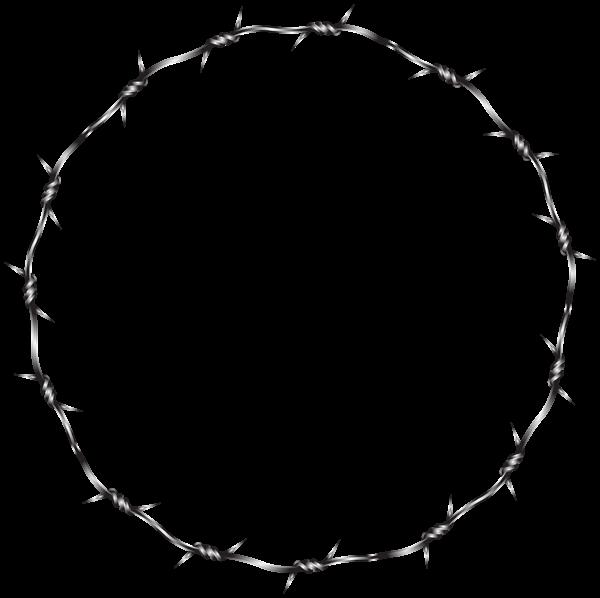 Wire Round Border Transparent Clip Art Image Art Images Clip Art Round Border