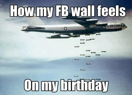 How My FB Wall Feels