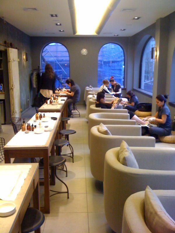 long manicure table ideas  Google Search  Interior