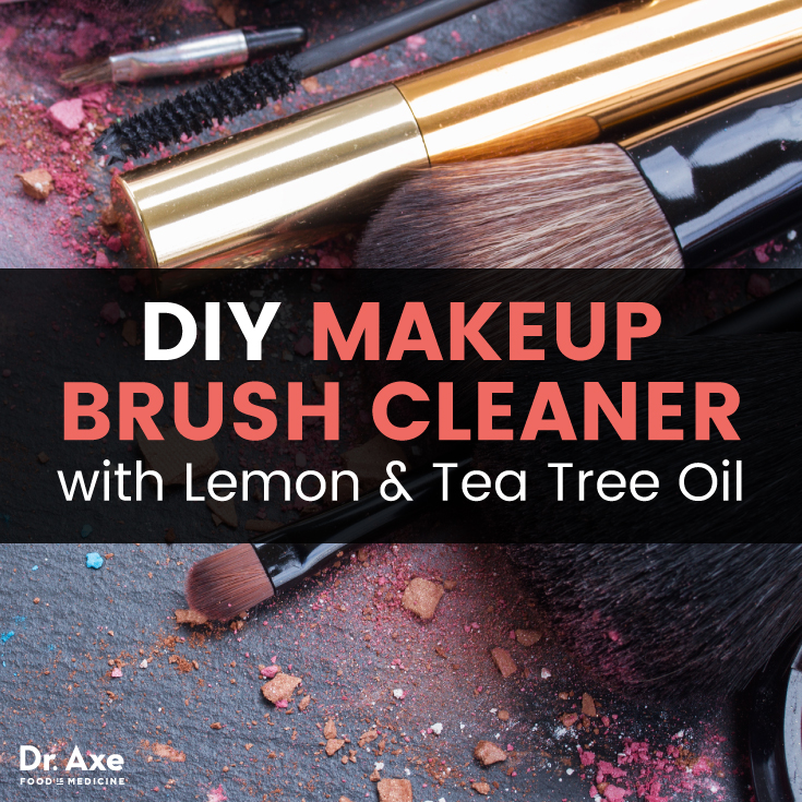 Photo of Makeup Brush Cleaner with Lemon & Tea Tree Oil – Dr. Axe