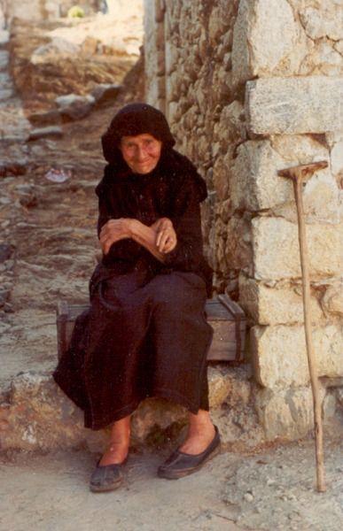 Foto Ger van Venrooij uit 1977 op Kreta. foto42   Foto, Kreta, Griekenland