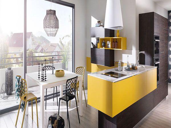Cuisine Américaine Des Idées Pour Un Aménagement Ouvert Interiors - Finition meuble cuisine pour idees de deco de cuisine