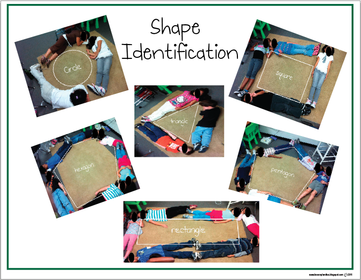 The Lesson Plan Diva: Freebie: Shapes and Direction Words