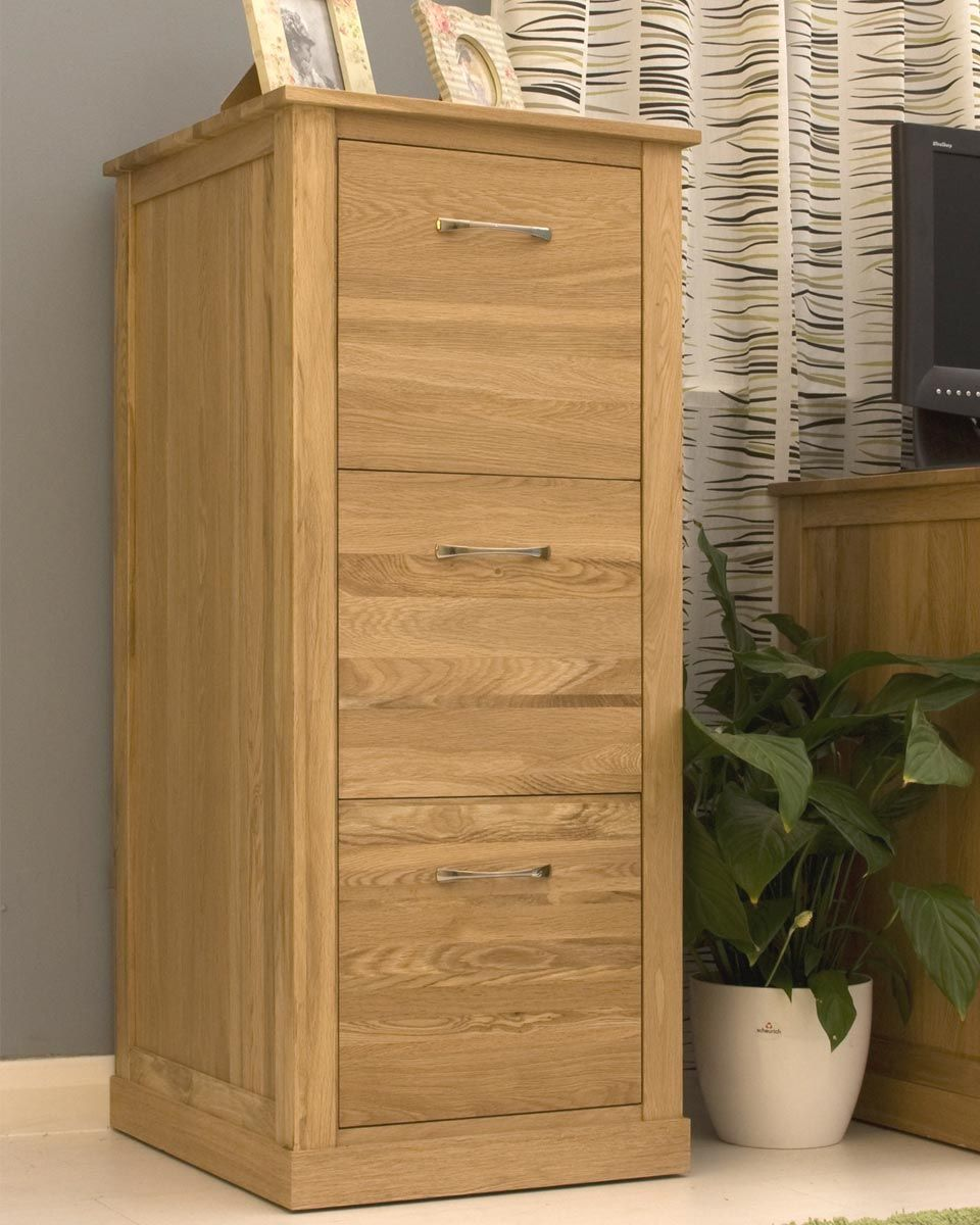 Classic Solid Oak Filing Cabinet Large Keep Your