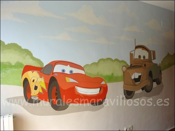 Pintar mural pared baby room pinterest room for Paredes infantiles pintadas